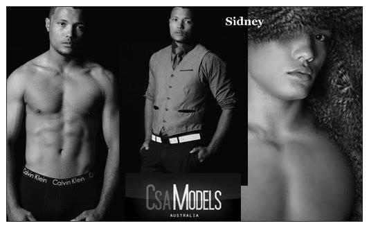 SIDNEY male model