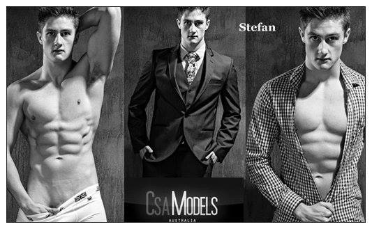 STEFAN male model