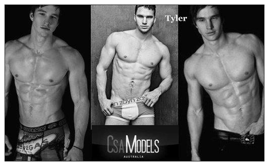 TYLER male model