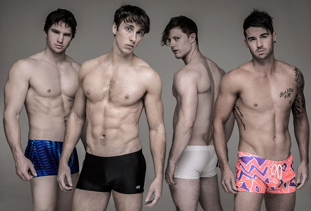 Attractive male models