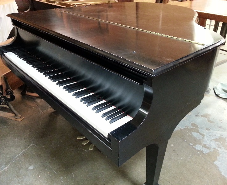 Piano refinished by experts in Honolulu, HI
