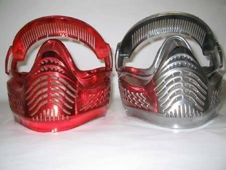 verniciatura metallizzata casco
