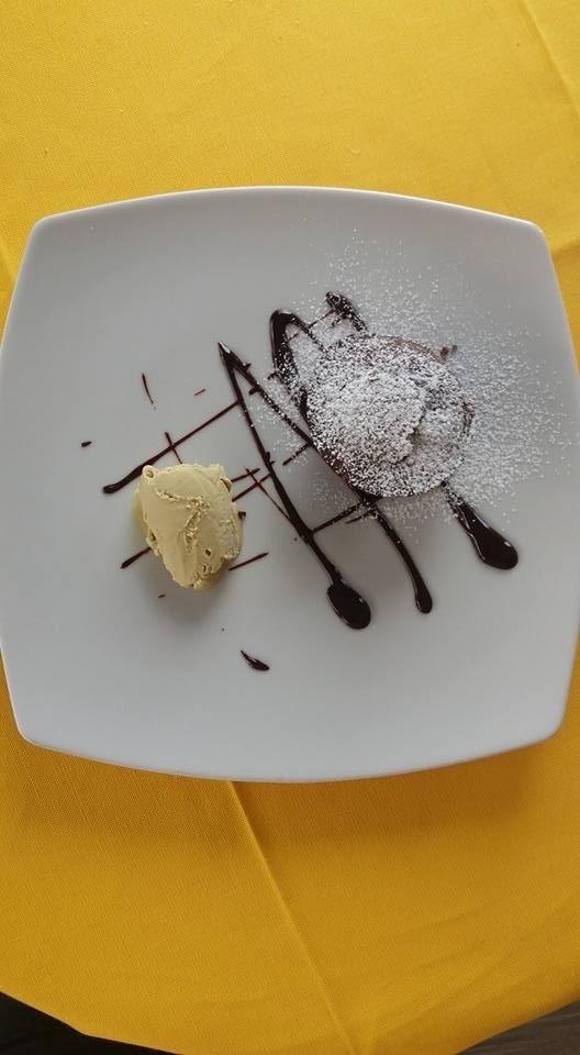 tortino di cioccolato