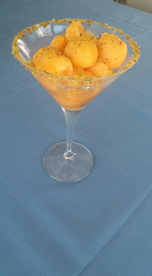 frutta e pistacchio