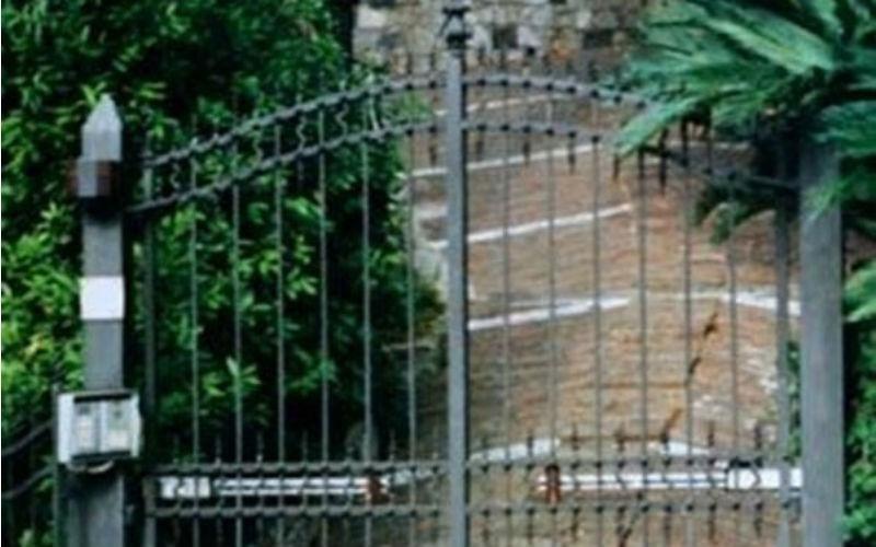 Cancelli in ferro battuto fabbro Sirola Rapallo