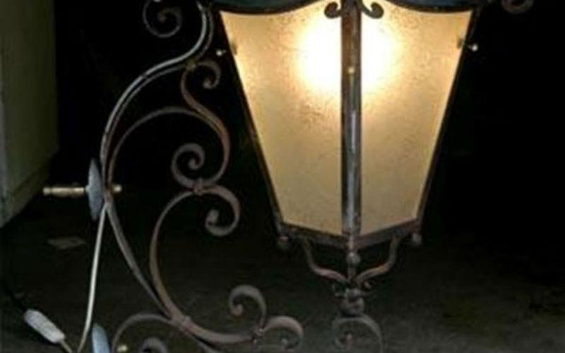 Lanterne in ferro battuto fabbro Sirola Rapallo