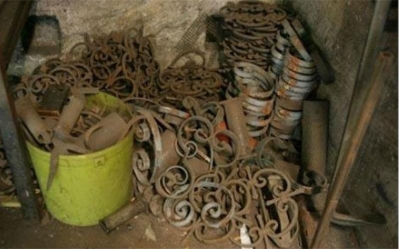 Ornamenti in ferro fabbro Sirola Rapallo