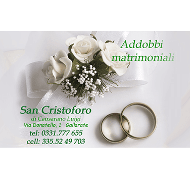 addobbi matrimonali