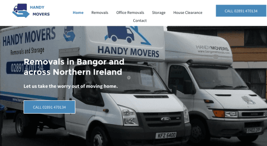 handy movers website