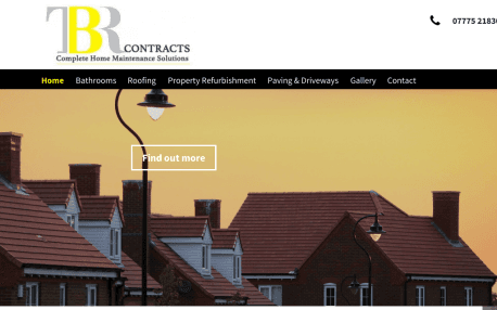 TBR Contracts website