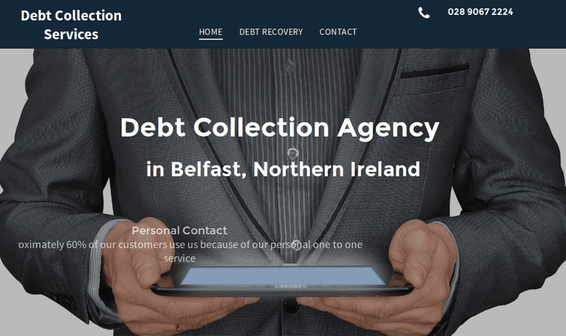 Debt Collection Services website