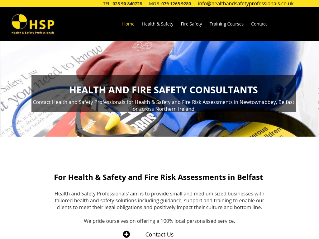 Health and safety professionals website