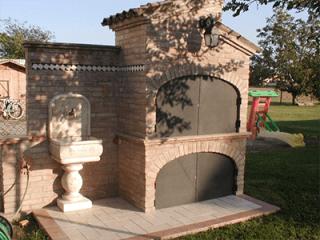 realizzazione barbecue
