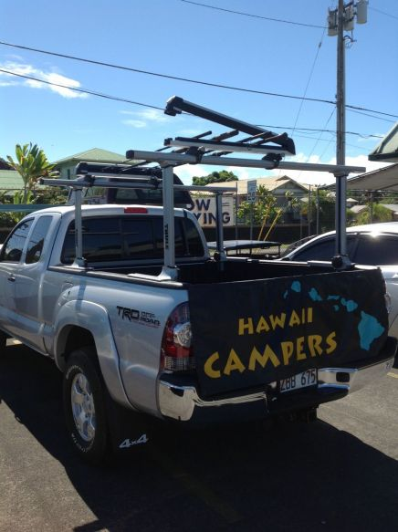 custom pole holders in Hilo, HI