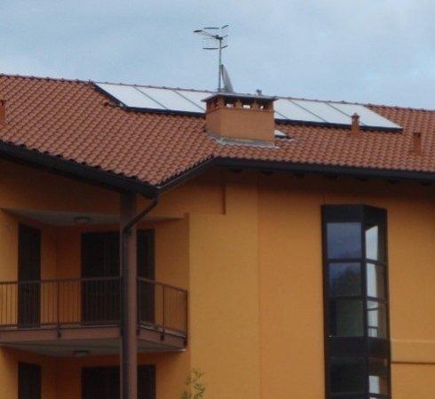 Installazione e manutenzione impianti solari condominiali.