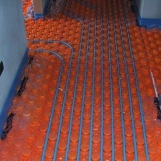 Riscaldamento a pannelli radianti a pavimento