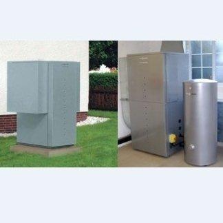 pompa di calore per riscaldamento e raffrescamento