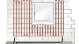 Impianto di riscaldamento a parete radiante