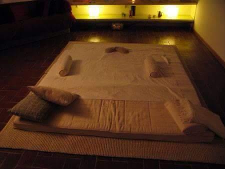 Lettino per massaggi