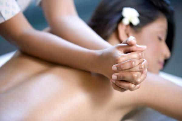 Massaggio della schiena