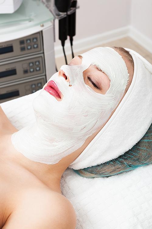 Maschera per il viso a Garlate