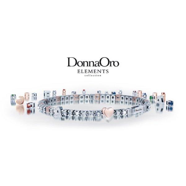 creazione bracciale Donna Oro elements
