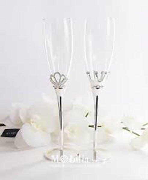 bicchieri degli sposi per brindare