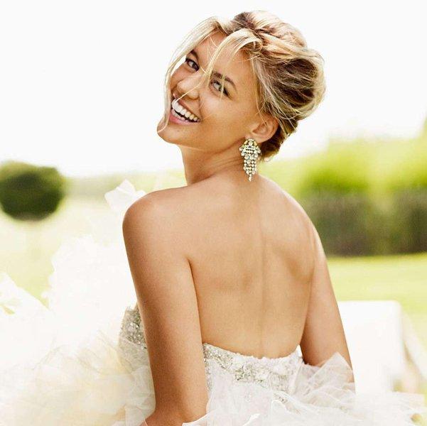 sposa che sorride