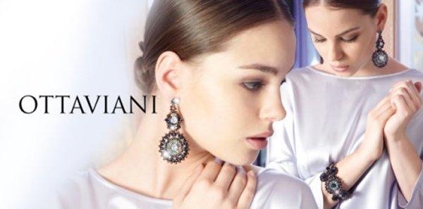 modella per Ottaviani marca gioielli