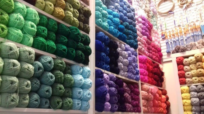yarns and woollen items