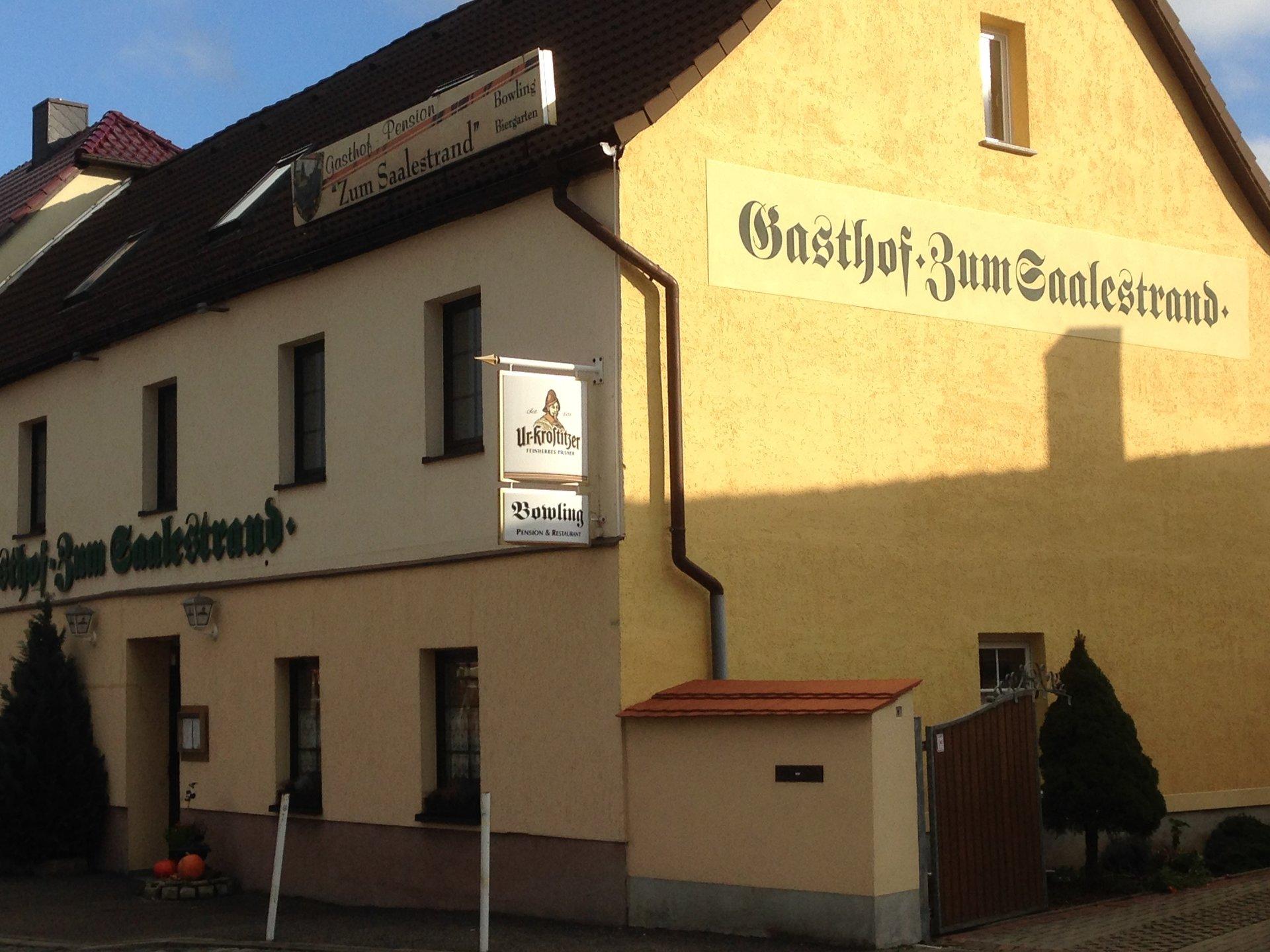 Gasthof Zum Saalestrand