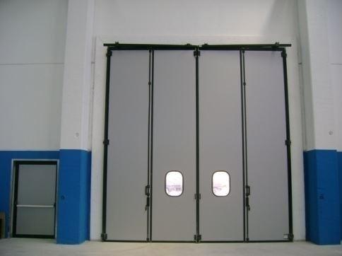 Porte di sicurezza idnustriali Gierre Serramenti