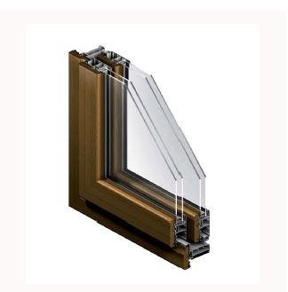 infissi in legno-alluminio country Gierre Serramenti