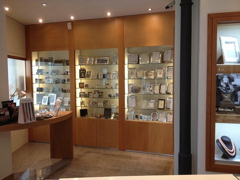 vetrine espositive gioielleria
