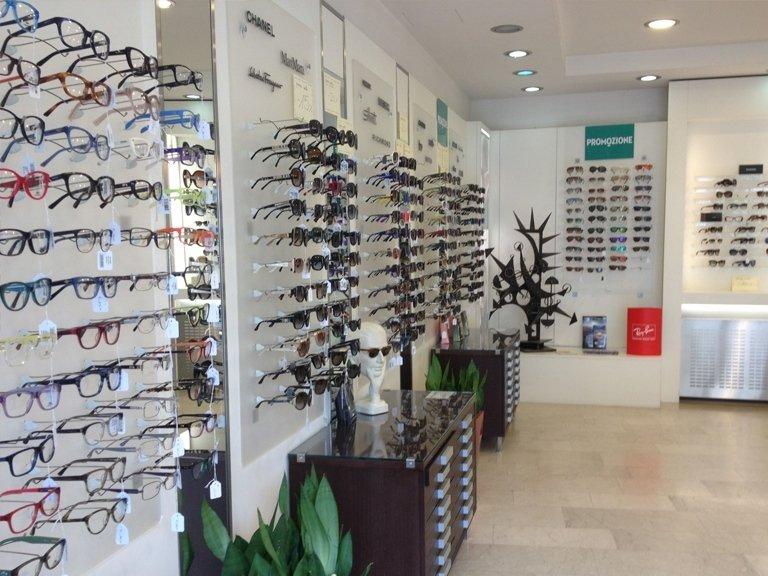 Showroom occhiali