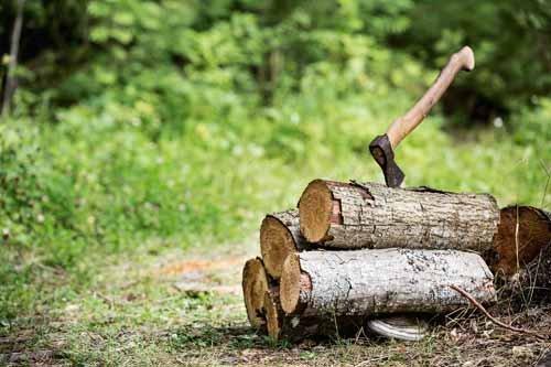 pila di legno