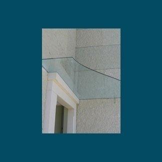 vetri per scale e tettoie