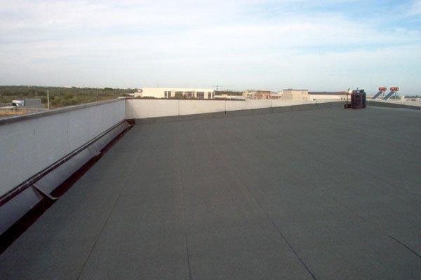 tetto con copertura nuova