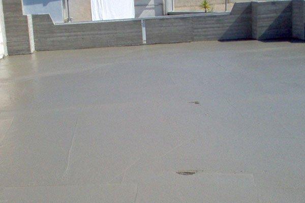vista di una terrazza