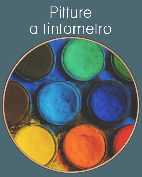 Pitture a Tintometro