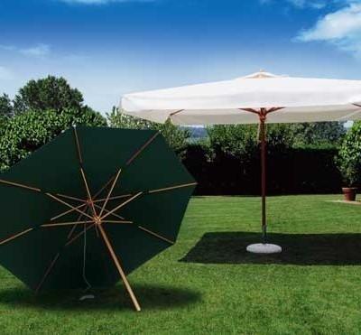 ombrellone lengo a palo centrale