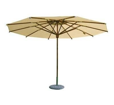 ombrellone lengo a palo centrale rotondo