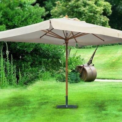 ombrellone lengo a palo centrale quadrato