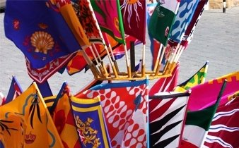 bandiere ponge