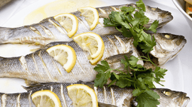pietanze a base di pesce