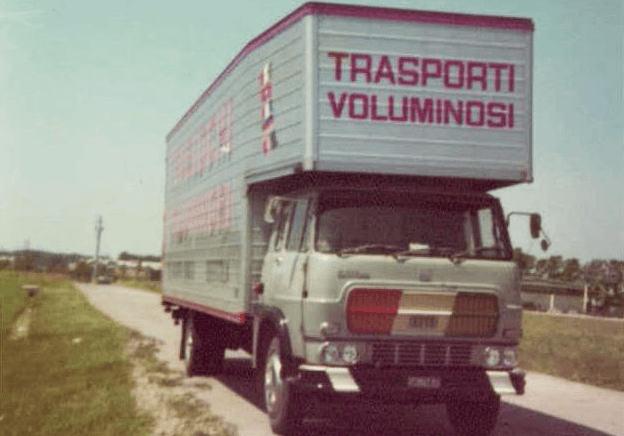 bertola traslochi camion anni 70