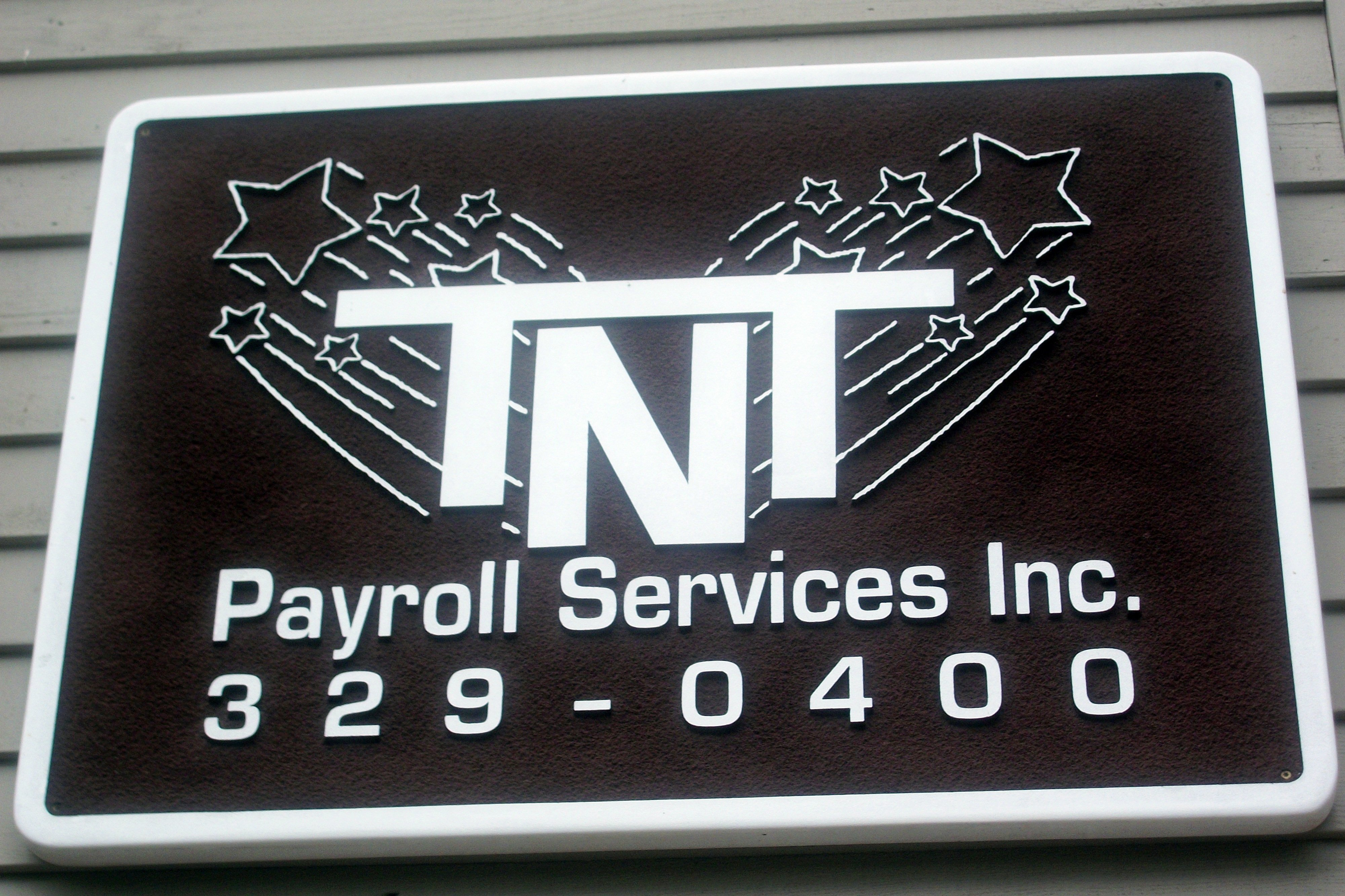 TNT Payroll Services sign