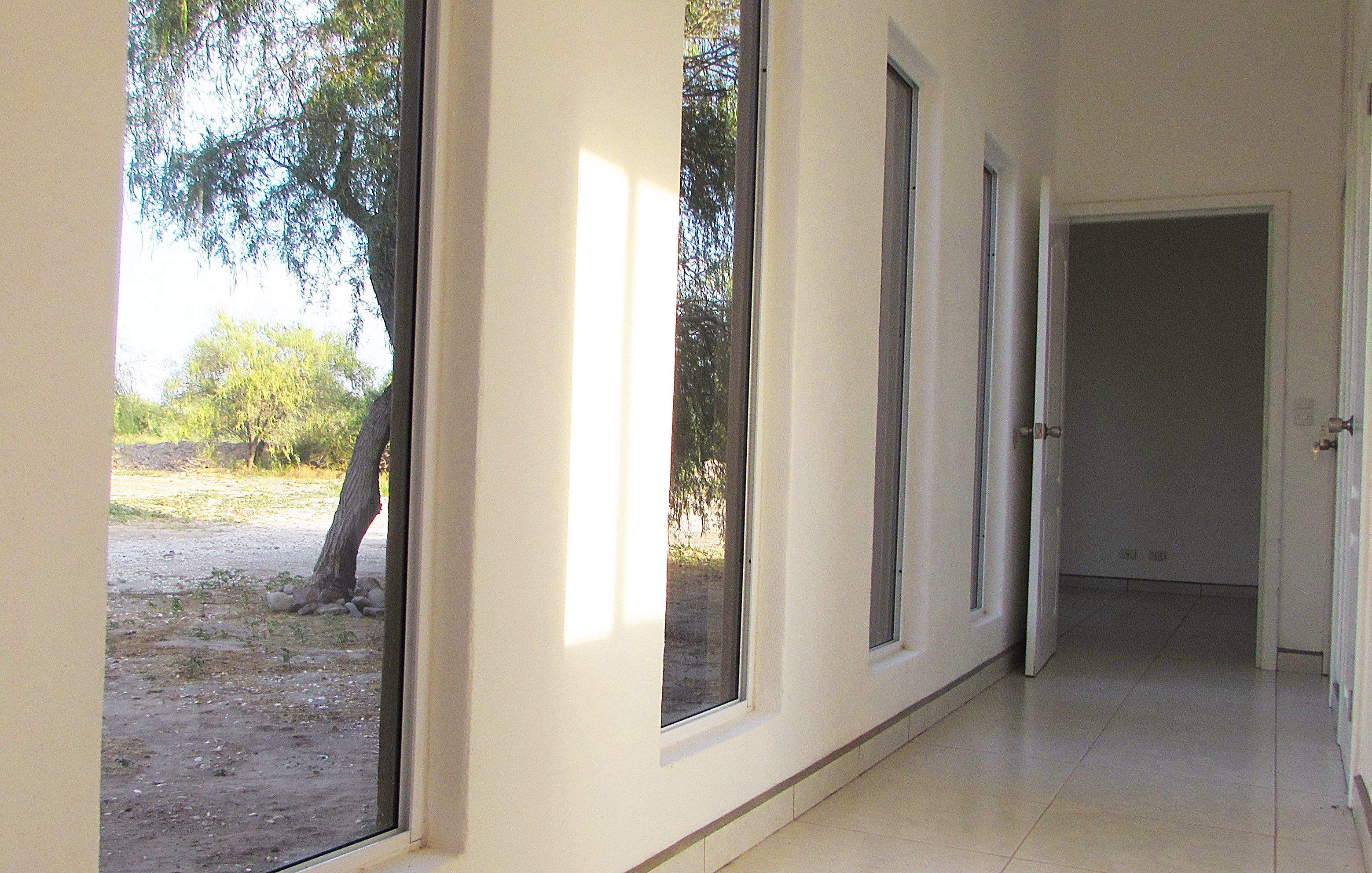 Hallway from kitchen