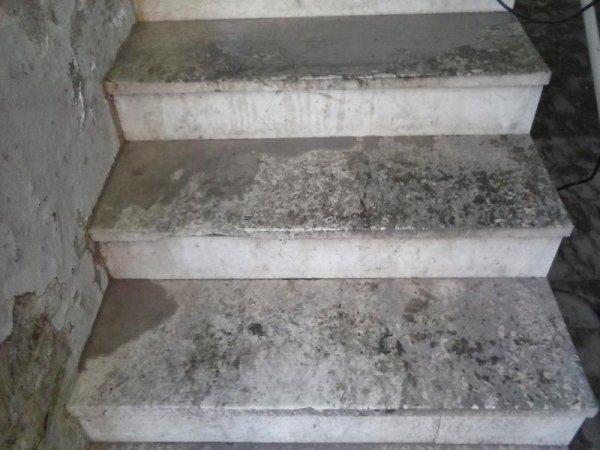 scale prima del trattamento