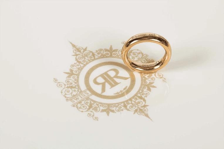 anello del ricordo reliquia